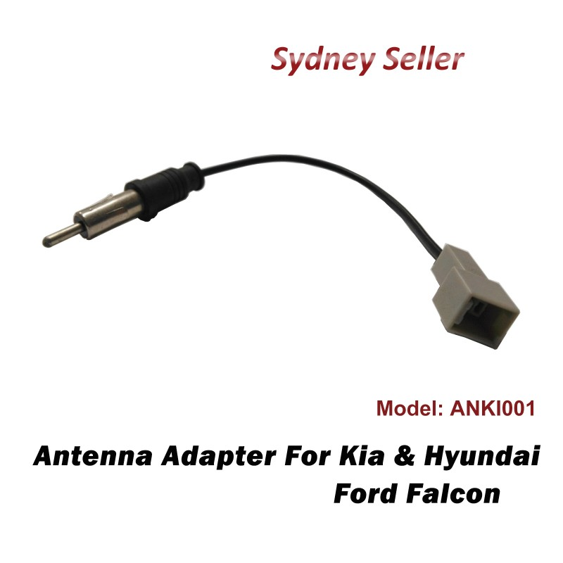 Antenna Adapter Adaptor Car Radio Plug For Kia Rondo 2013+ Sportage 2010-2015 ANKI001