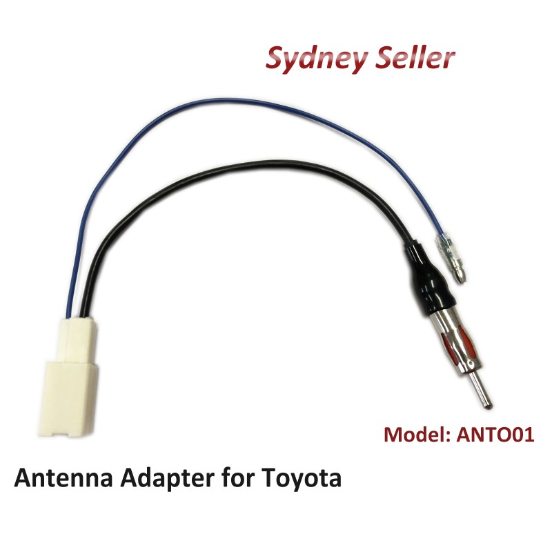 Antenna adapter for Toyota Fortuner 2015+ to m din antenna aftermarket ANTO01