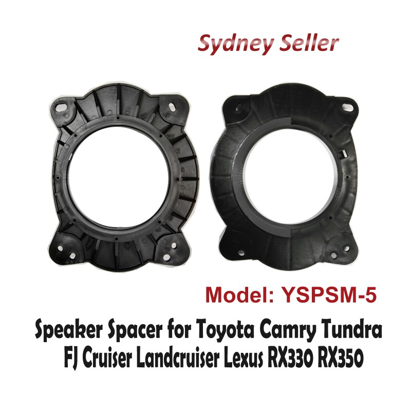Custom 165mm Front Car Speaker Spacer For Toyota Landcruiser 200 2007-2015 YSPSM-5