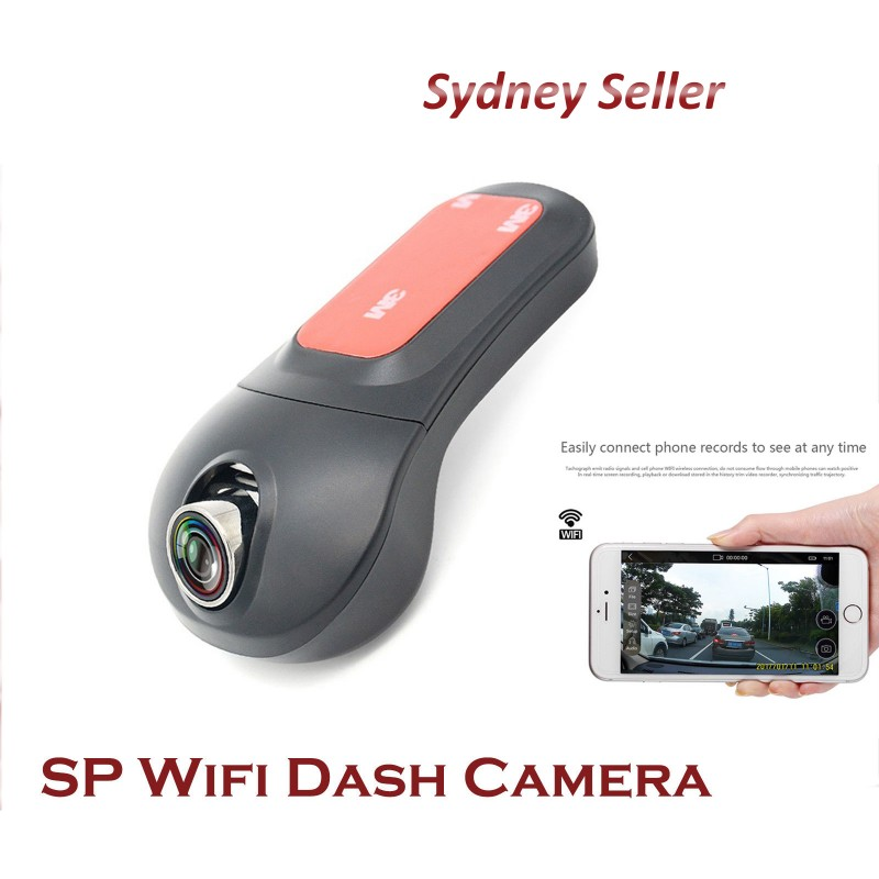 Wifi Sngle channel FHD 1080P Front view dash camera with WiFi WIFIDASHCAM1CH
