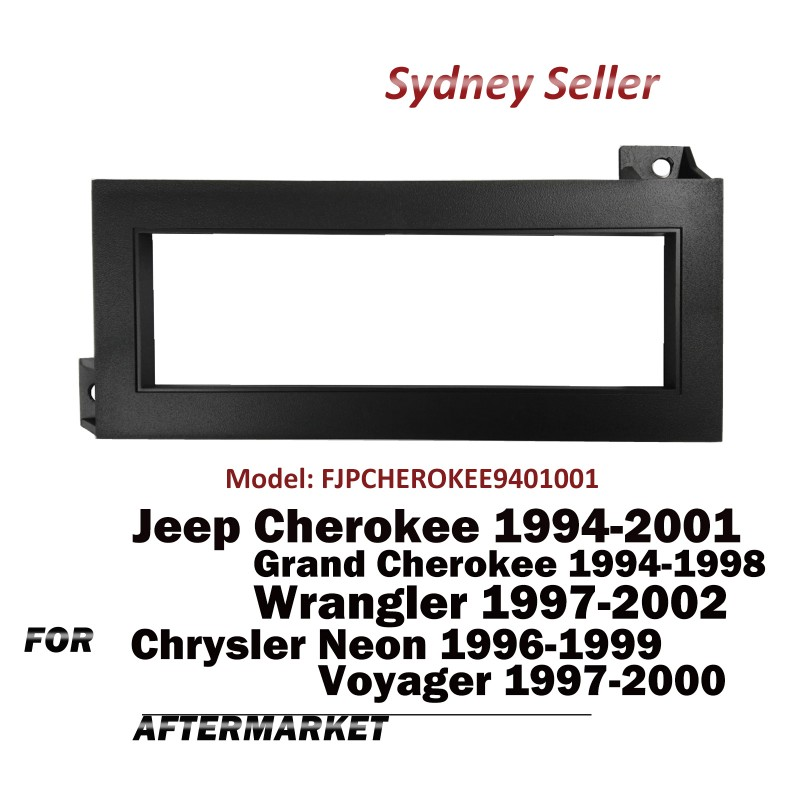 Single DIN Facia Kit Panel Fascia Dash For Chrysler Neon Voyager 1996-2000 FJPCHEROKEE9401001