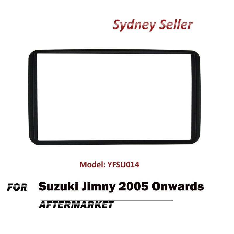 Double DIN Facia Kit Fascia Dash Plate Panel For Suzuki Jimny 2005+ YFSU014