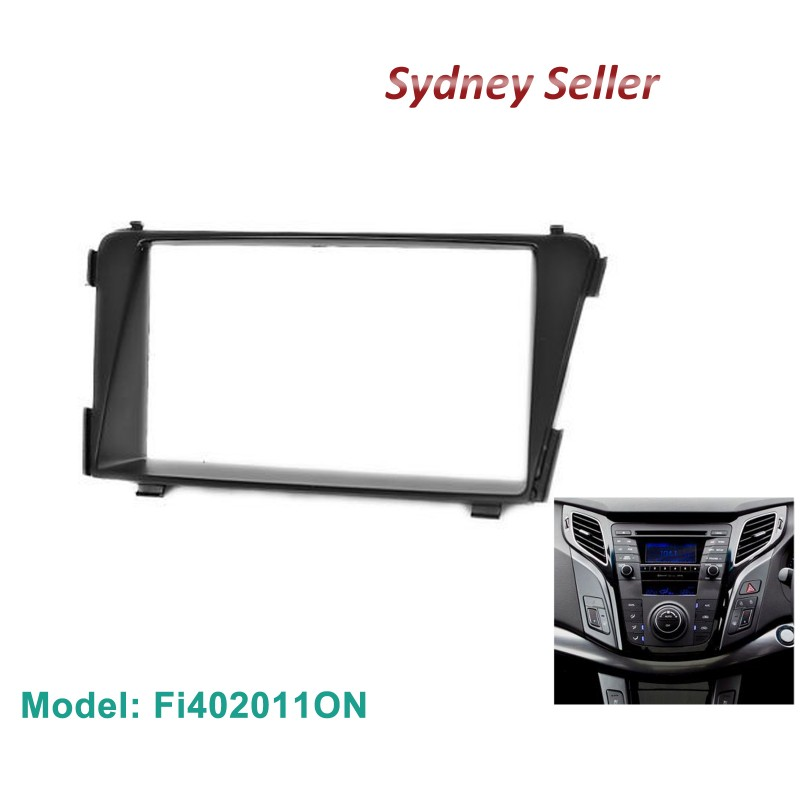 Double 2 DIN Facia Kit Panel Fascia Dash Plate For Hyundai i-40 VF/VF2/VF3 i40 2011+ Fi402011ON