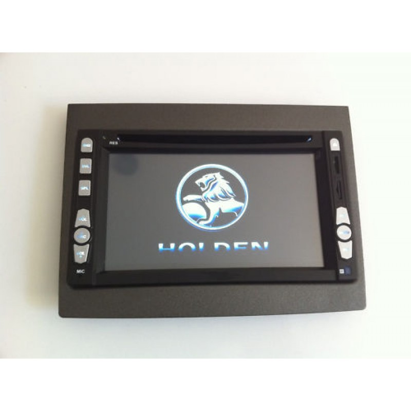 Double Din  Facia Plate Fascia Dash Panel Kit For Holden VY-VZ Commodore Monaro 2002+ BLACK FVYVZ