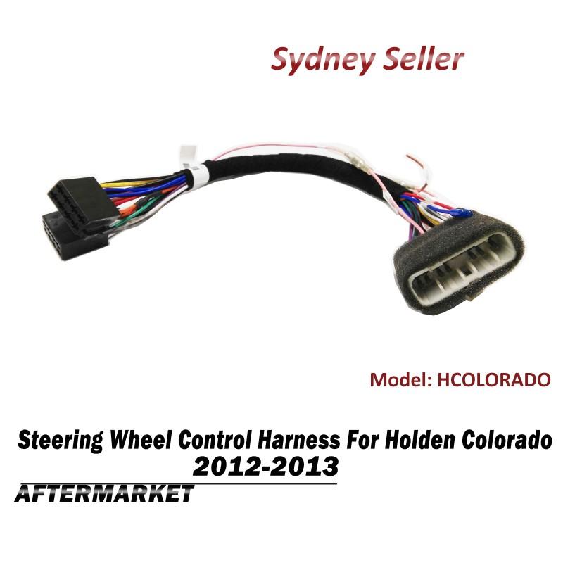 Steering Wheel Control SWC Harness ISO Plug Lead Wiring For Holden Colorado 2012-2013 HCOLORADO