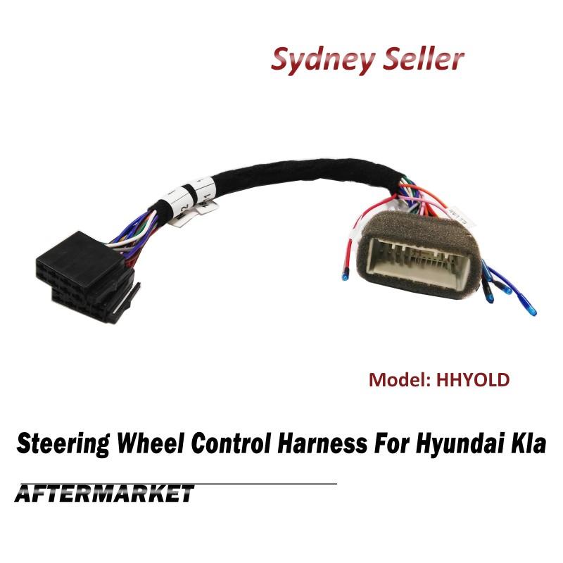 Steering Wheel Control SWC Harness ISO Plug Lead Wire Loom For Hyundai iLoad iMax EQ HHYOLD