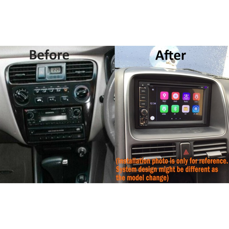 CARPLAYER ANDROID AUTO GPS DVD SAT NAV IPOD BT USB FOR HONDA ACCORD INTEGRA LEGEND