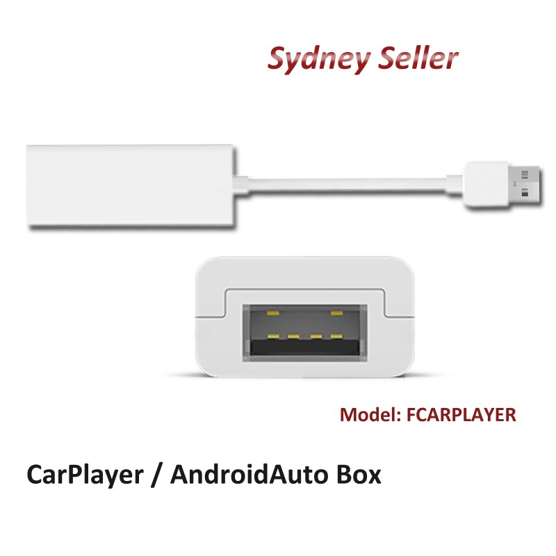 CarPlayer / Android Auto Box USB Adapter Compatible with F SERIES Stereo