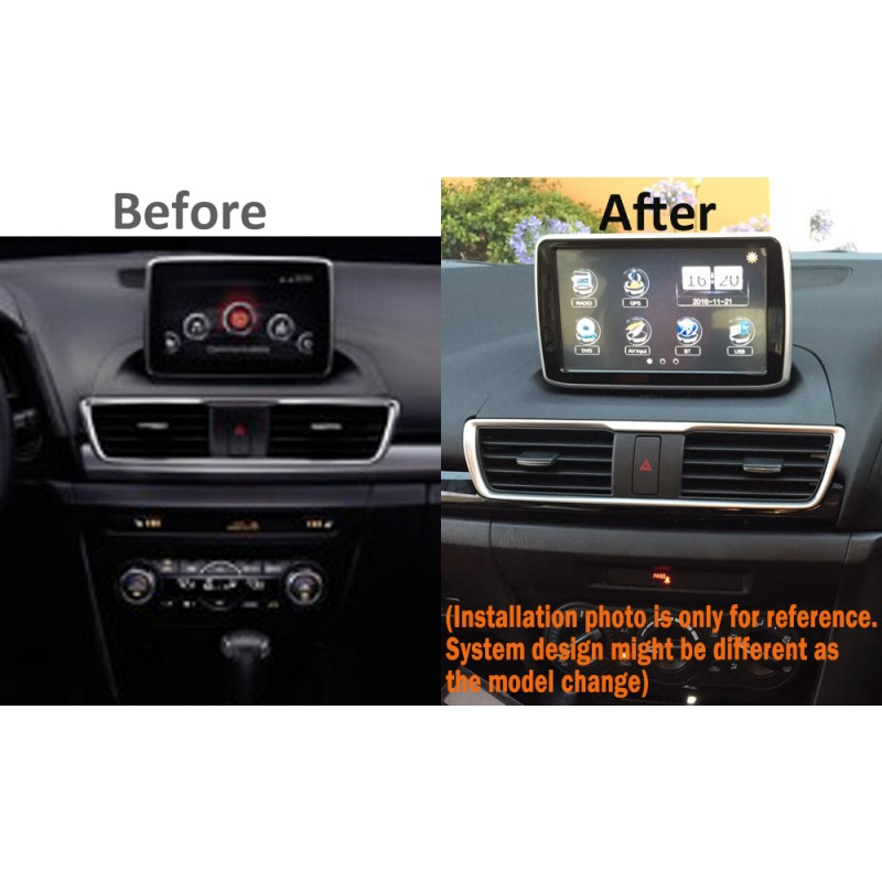 FACTORY NAVIGATION GPS SAT NAV INTEGRATION SYSTEMS FOR MAZDA CX4 CX5 CX9 2014-17