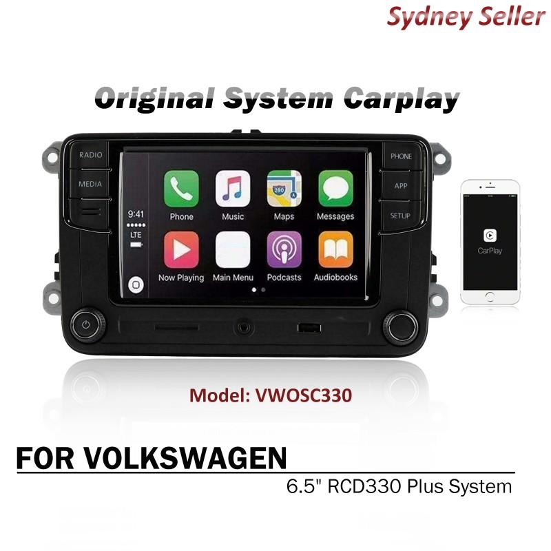 "Original Radio System CarPlay 6.5"" RCD330 Plus For Volkswagen Beetle Eos Jetta TiguanTransporter"
