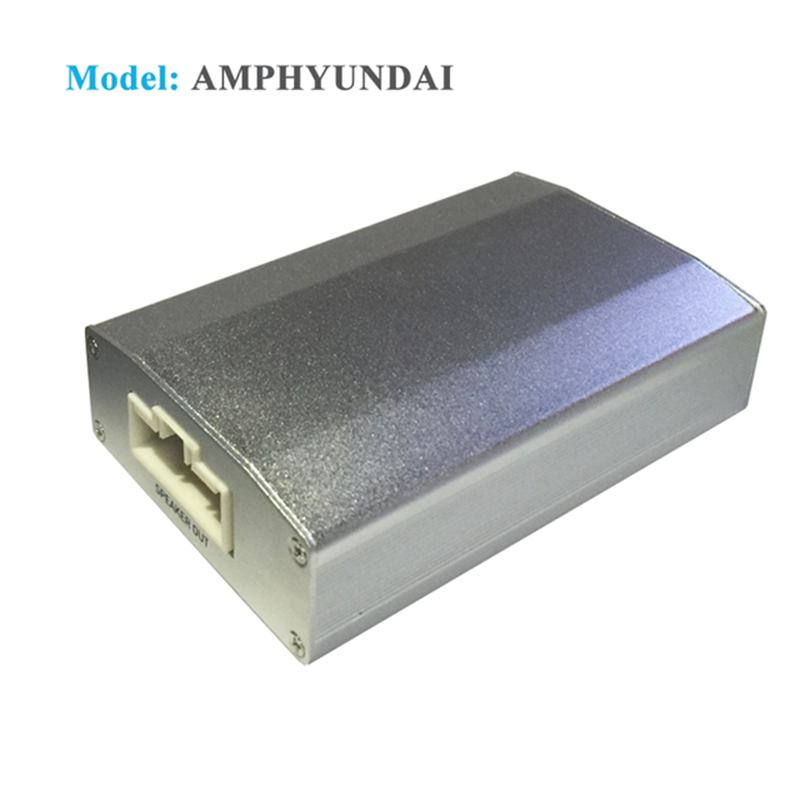 App Controlled 4 Channel Car Digital Amplifier With Integrated DSP for Hyundai