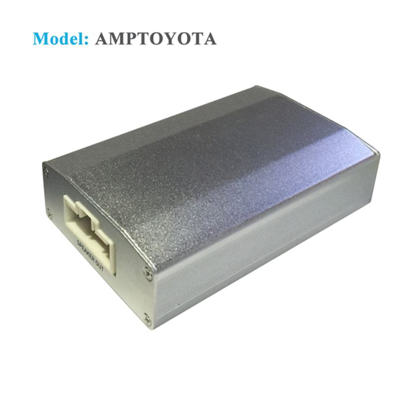 App Controlled 4 Channel Car Digital Amplifier With Integrated DSP for Toyota