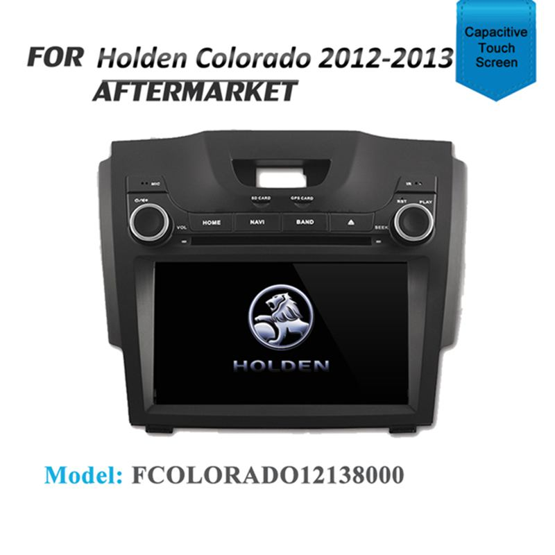 "8"" GPS DVD IPOD SAT NAV BLUETOOTH RADIO USB STEREO FOR HOLDEN COLORADO 2012-2013"
