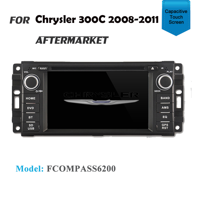 CARPLAYER ANDROID AUTO GPS DVD SAT NAV IPOD BT FOR Chrysler 300C 2008-2011
