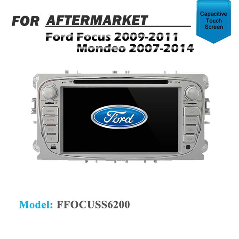 GPS DVD SAT NAV IPOD BLUETOOTH NAVIGATION FOR FORD FOCUS SILVER 2009-2011