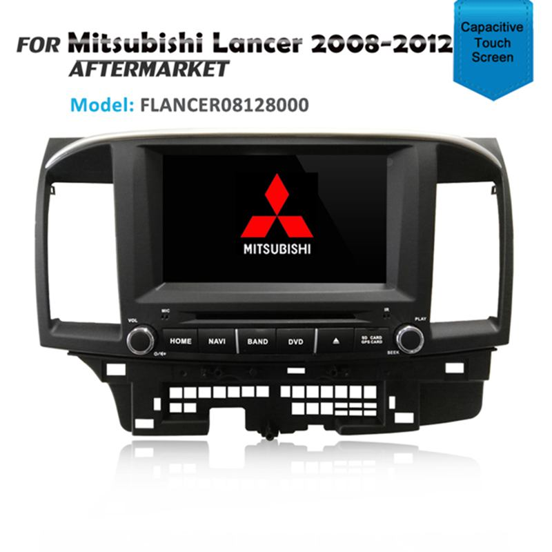 "8"" CARPLAYER ANDROID AUTO GPS DVD SAT NAV IPOD BT FOR MITSUBISHI LANCER 2008-2012"