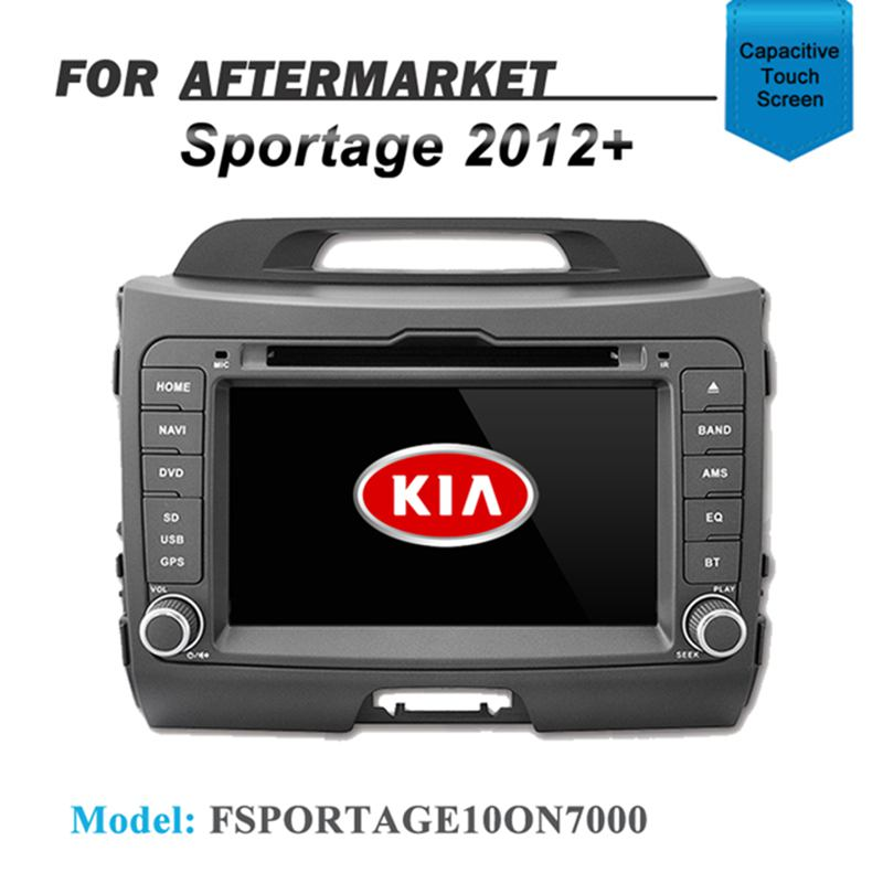 CARPLAYER ANDROID AUTO GPS DVD SAT NAV IPOD BT FOR KIA SPORTAGE 2010+
