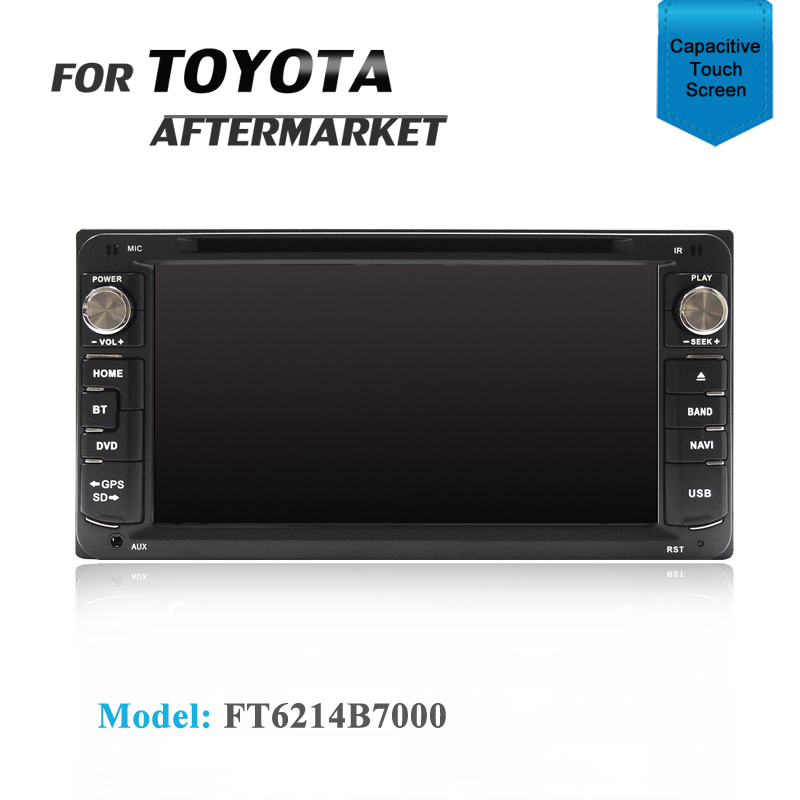"7"" GPS SAT NAV DVD IPOD BLUETOOTH RADIO FOR TOYOTA YARIS ECHO 86"