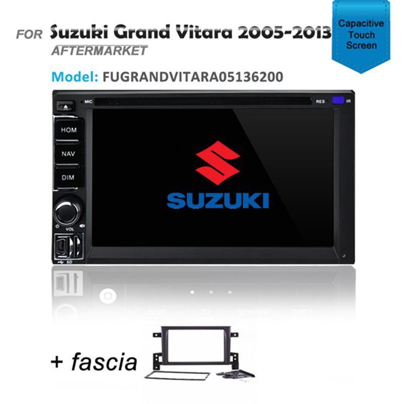 GPS DVD SAT NAV IPOD BLUETOOTH USB FOR SUZUKI GRAND VITARA 2005-2013
