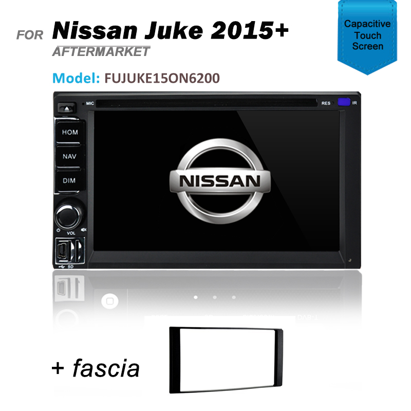 GPS DVD SAT NAV BLUETOOTH IPOD USB SD NAVIGATION RADIO FOR NISSAN JUKE 2015+