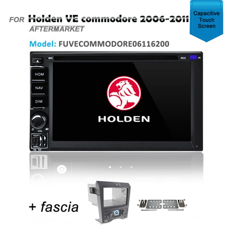CARPLAYER ANDROID AUTO GPS SAT NAV DVD IPOD BLUETOOTH FOR HOLDEN VE COMMODORE 2006-2011
