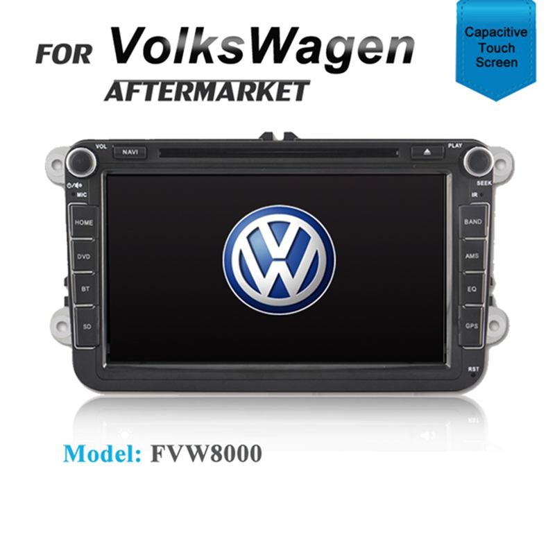 8' GPS DVD SAT NAV IPOD BLUETOOTH FOR VW VOLKSWAGEN POLO JETTA CADDY TIGUAN
