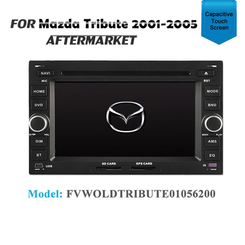 GPS DVD SAT NAV IPOD BLUETOOTH RADIO USB FOR MAZDA TRIBUTE 2001-2005