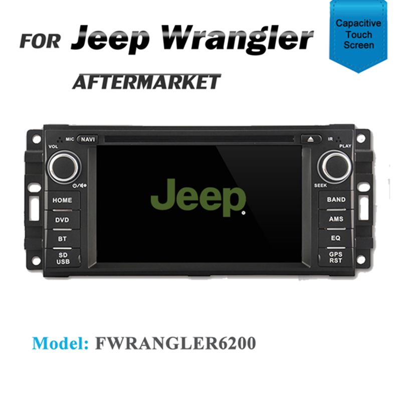 CARPLAYER ANDROID AUTO GPS DVD SAT NAV IPOD BT FOR JEEP PATRIOT 2009+  WRANGLER 2007+
