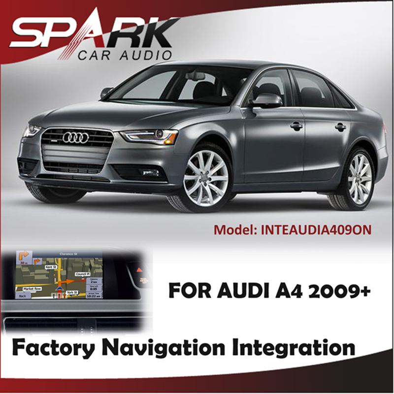 FACTORY NAVIGATION GPS SAT NAV INTEGRATION SYSTEM TOUCH SCREEN FOR AUDI A4 2009+