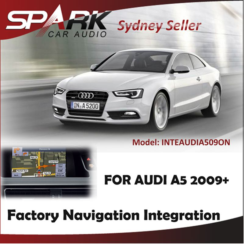 FACTORY NAVIGATION GPS SAT NAV INTEGRATION SYSTEM TOUCH SCREEN FOR AUDI A5 2009+