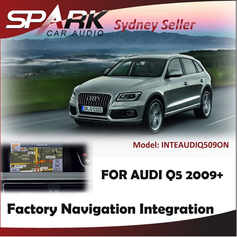 FACTORY NAVIGATION GPS SAT NAV INTEGRATION SYSTEM TOUCH SCREEN FOR AUDI Q5 2009+