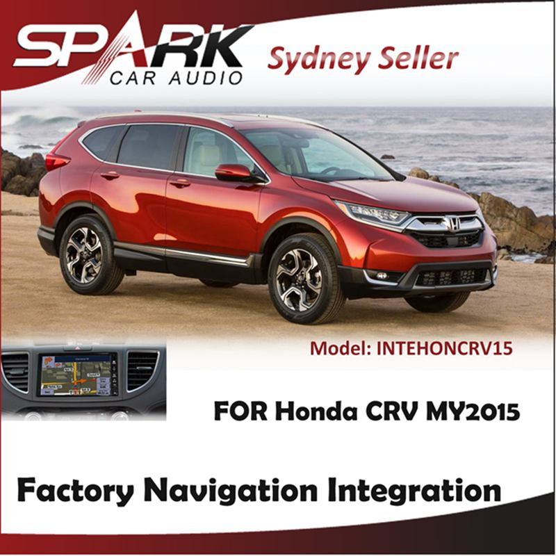 FACTORY NAVIGATION GPS SAT NAV INTEGRATION SYSTEMS FOR HONDA CRV CR-V MY2015