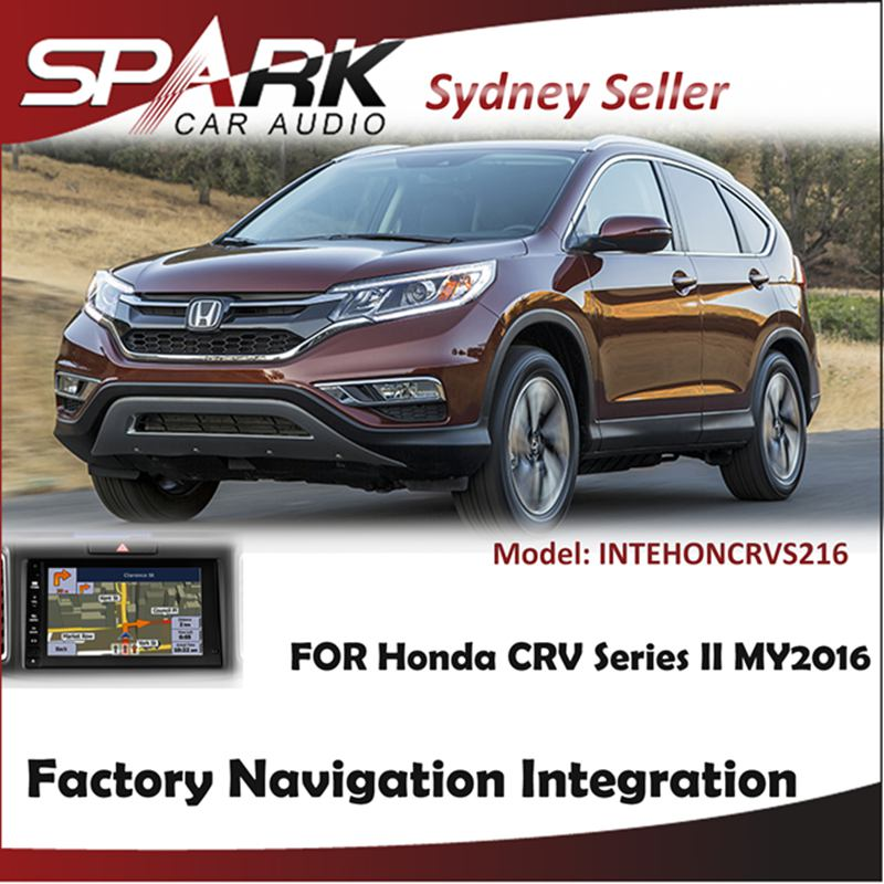FACTORY NAVIGATION GPS SAT NAV INTEGRATION FOR HONDA CRV CR-V SERIES II MY2016