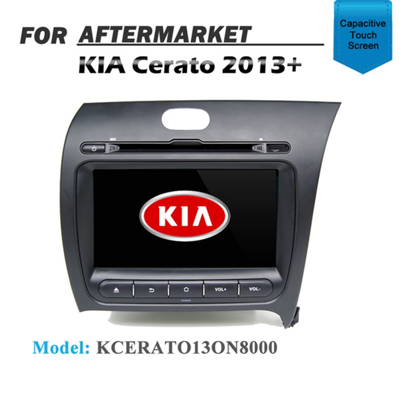 "8"" GPS SAT NAV NAVIGATION DVD IPOD BLUETOOTH RADIO USB FOR KIA CERATO 2013+"