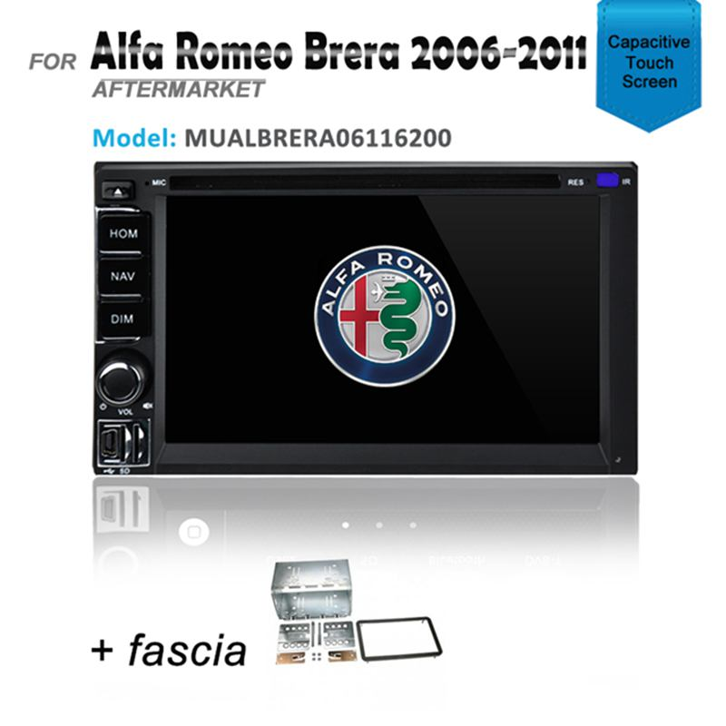 GPS DVD IPOD SAT NAV BLUETOOTH NAVIGATION FOR ALFA ROMEO BRERA 2006-2011