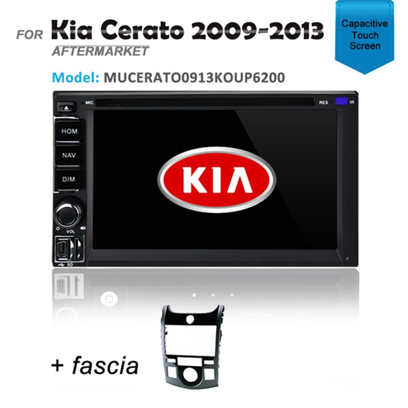CARPLAYER ANDROID AUTO GPS DVD SAT NAV IPOD BT FOR KIA CERATO KOUP 2009-2013