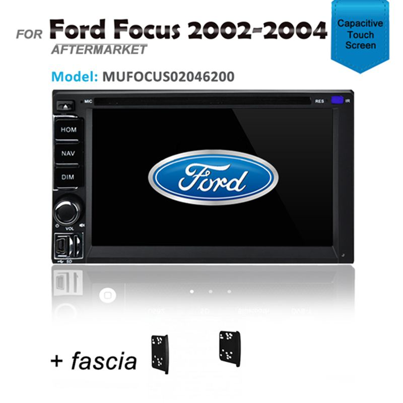 GPS DVD SAT NAV IPOD BLUETOOTH USB RADIO FOR FORD FOCUS 2002-2004 LR