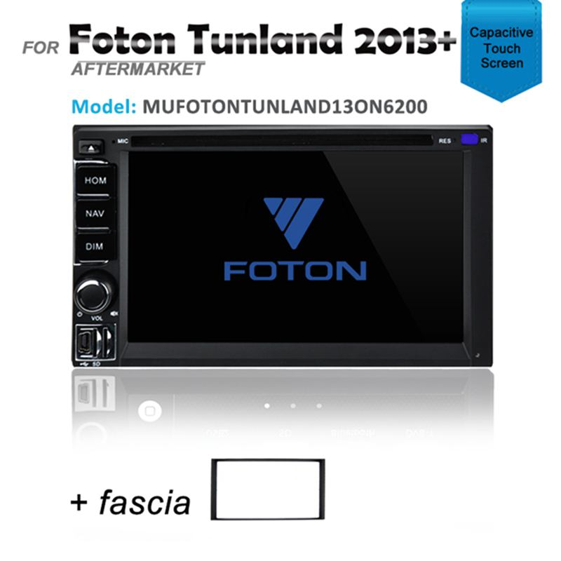 CARPLAYER ANDROID AUTO GPS DVD IPOD SAT NAV BLUETOOTH FOR FOTON TUNLAND 2013+
