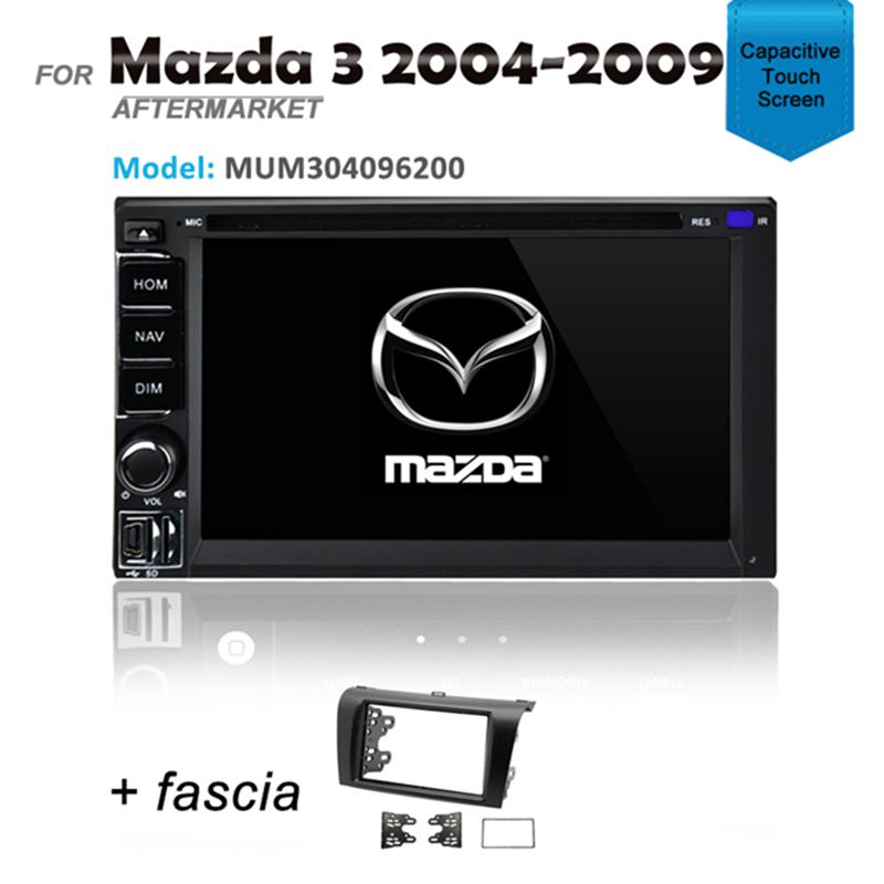 CARPLAYER ANDROID AUTO GPS DVD SAT NAV IPOD BLUETOOTH FOR MAZDA 3 2004-2009