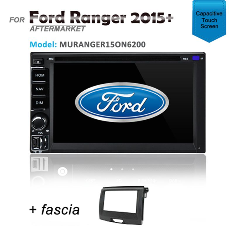CARPLAYER ANDROID AUTO GPS DVD SAT NAV IPOD BLUETOOTH FOR FORD RANGER 2015+