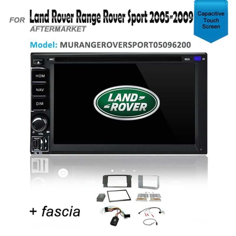 GPS DVD SAT NAV BT IPOD USB FOR LAND ROVER RANGE ROVER SPORT 2005-2009