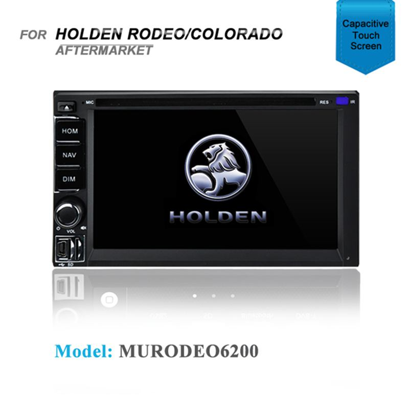 AFTERMARKET GPS DVD SAT NAV BLUETOOTH IPOD USB for Holden Rodeo Colorado PRE2012