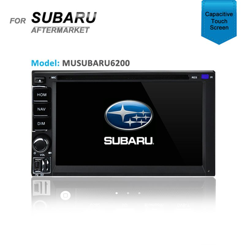 CARPLAYER / ANDROID AUTO GPS SAT NAV DVD IPOD BT FOR SUBARU OUTBACK 2000-2003