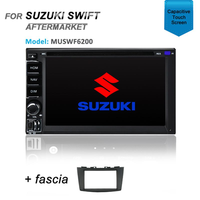 CARPLAYER ANDROID AUTO GPS DVD SAT NAV BLUETOOTH FOR SUZUKI SWIFT pre 2010