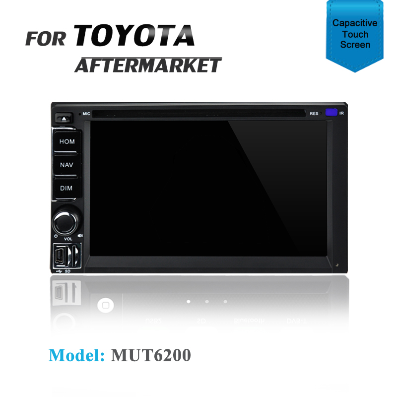 CARPLAYER / ANDROID AUTO GPS DVD SAT NAV BLUETOOTH FOR TOYOTA LANDCRUISER HILUX HIACE CAMRY PRE04