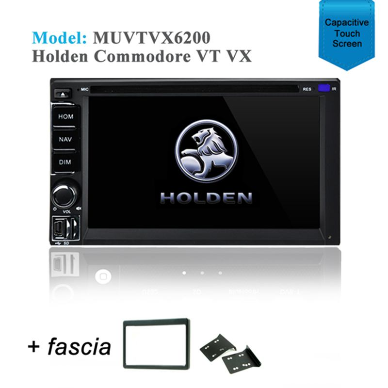 GPS DVD BLUETOOTH IPOD SAT NAV STEREO RADIO USB SD FOR Holden VT VX Commodore