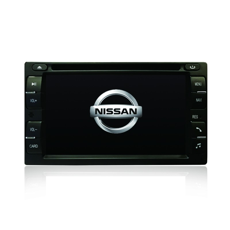 GPS DVD SAT NAV BLUETOOTH USB RADIO FOR NISSAN PATROL X-TRAIL XTRAIL NAVARA D40 D22
