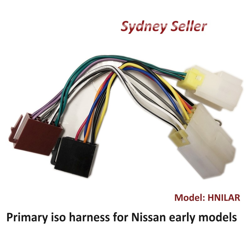 Primary ISO Harness Non SWC Adaptor For Nissan Navara 1987-1992 D21 HNILAR